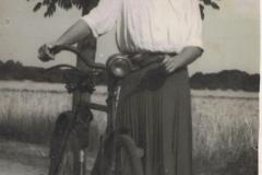 1950r. Krzykowice koło Wolborza - Maria Wojciechowska
