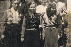 1952-05-20 Zawada - Barbara Ogórek,Leokadia Adamowska, Natalia Krośnia, Jan Przybysz
