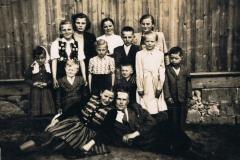 1954r. Rodzina Rosiaków