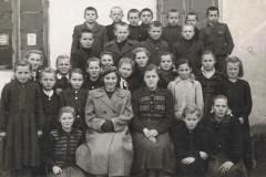1955r. Sierzchowy - Klasa Staśka Rosiaka