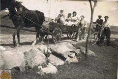 1938r. Zaprzęg konny