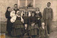 1940r. - Rodzina Dzikich