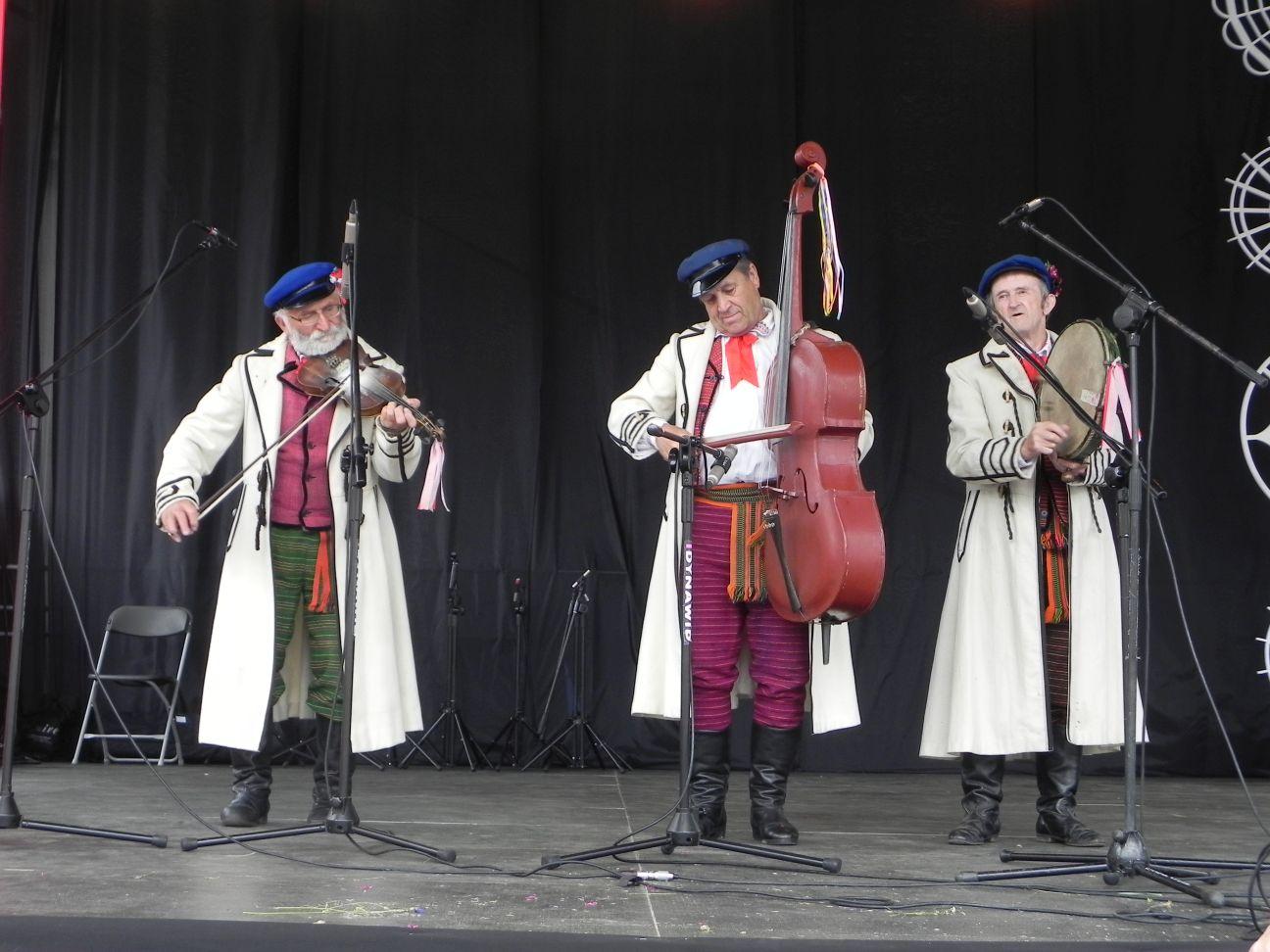 2017-06-24 Kazimierz Dolny - Jan Kępa, Władysław Chaber i Władysław Gmaj